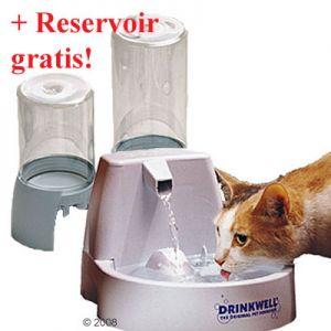 Fontaine à eau Drinkwell + réservoir offert