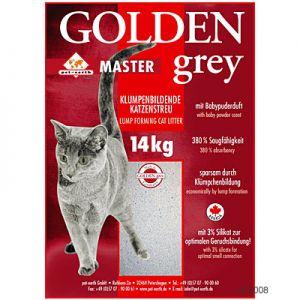 Litière pour chat Golden Grey Master