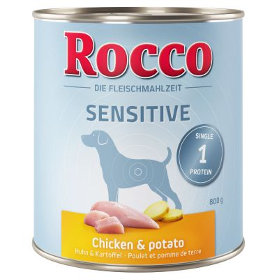 rocco sensitive alimentation golden retriever