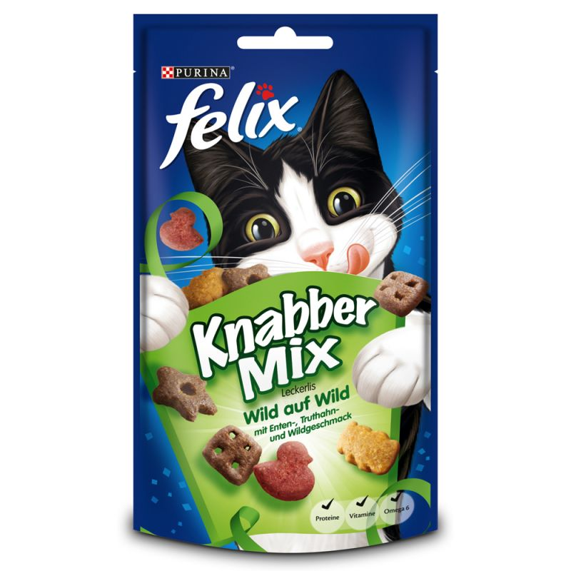 Paquet de Felix Party Mix au gibier