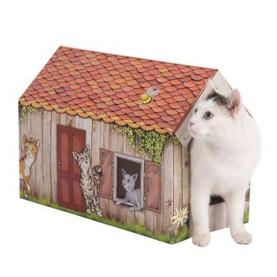 zoolove Maisonnette Home avec griffoir pour chat