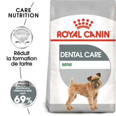 royal canin mini dental care chien